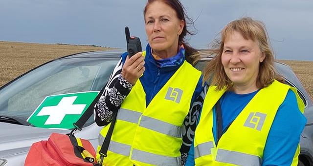 RPR veepääste- ja esmaabimeeskond osales triatlonil